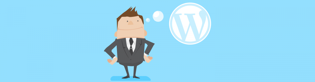 WordPress thought bubble
