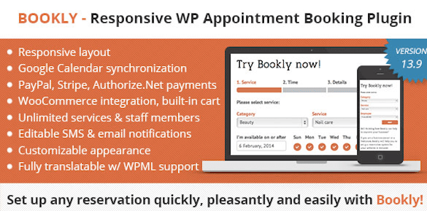 Reservation Plugin - Bookly
