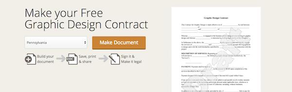 design contract