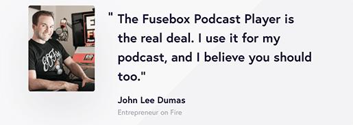 Fusebox testimonial