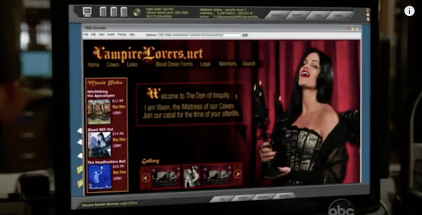 Scary Website - Castle - VampireLovers