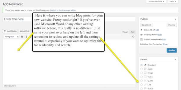 New WordPress blog post