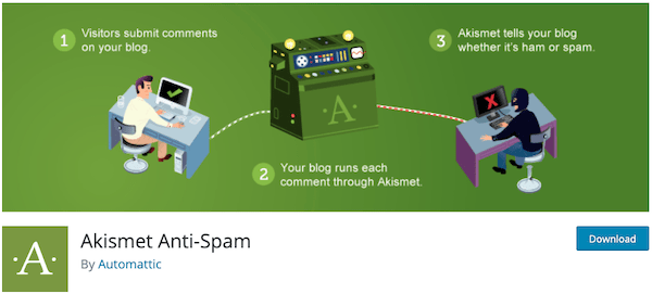 Akismet is a great plugin for fighting spam