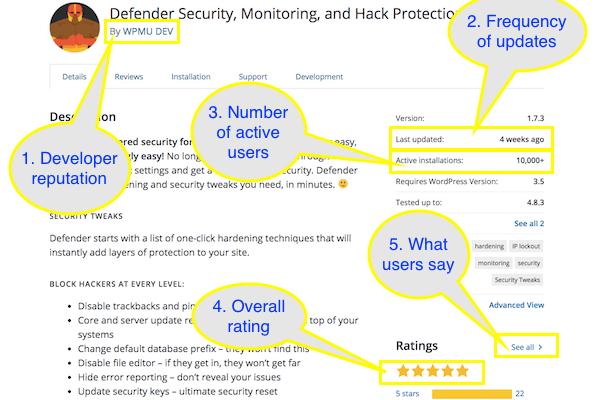 Fake WordPress Plugins - Plugin Review Example