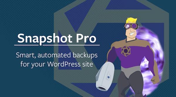 Inherit a WordPress Site - Snapshot Pro