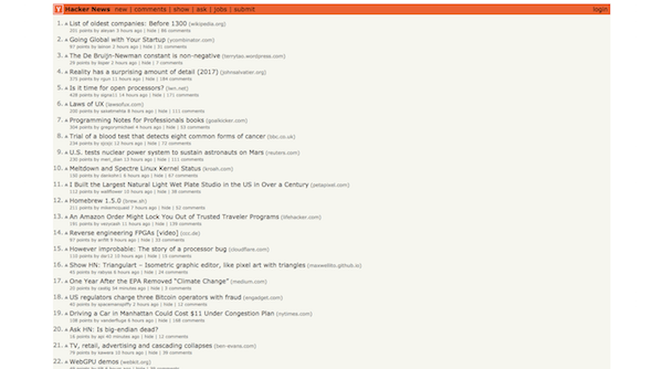 Brutalist Web Design - Hacker News