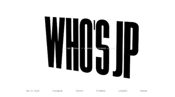 Brutalist Web Design - Joao Paulo