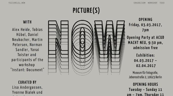 Brutalist Web Design - PICTURE(S) NOW