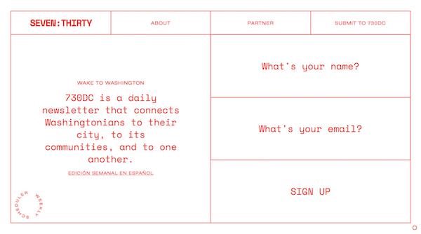 Brutalist Web Design - SevenThirty