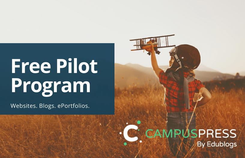 CampusPress Pilot - Blogs, Websites, ePortfolios