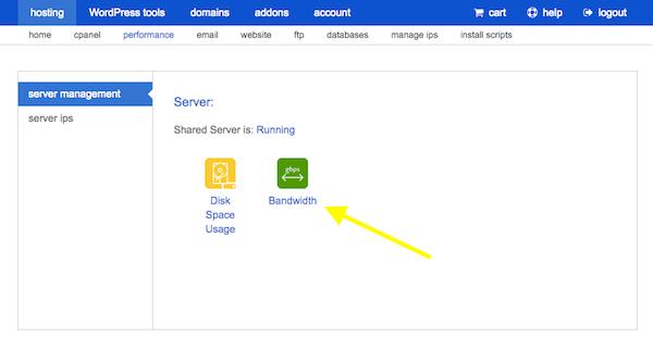 Server issues - Bandwidth Server Management