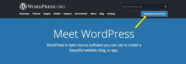 Server issues - Download WordPress