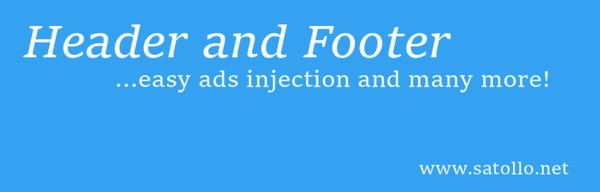 Head Footer and Post Injections 600 600x192 - 18 Plugins To Customize the Header And Footer Of Your Site