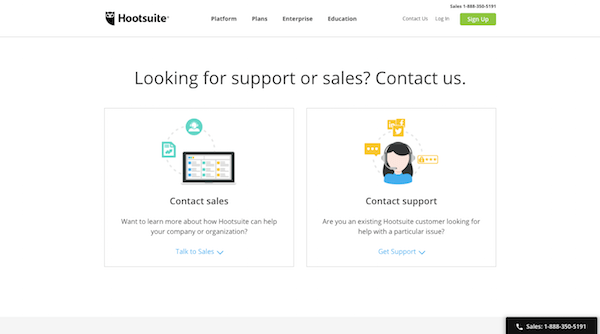 Hootsuite Contact