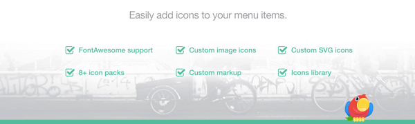 Menu Icons by Themeisle 600 600x180 - 18 Plugins To Customize the Header And Footer Of Your Site