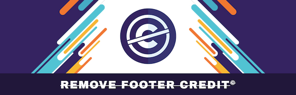 Remove Footer Credit plugin 600 600x194 - 18 Plugins To Customize the Header And Footer Of Your Site