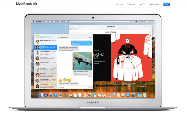 Upsell and Cross-sell - MacBook Air