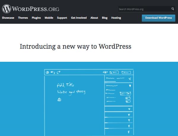 The project Gutenberg website
