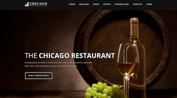 Chicago WordPress theme