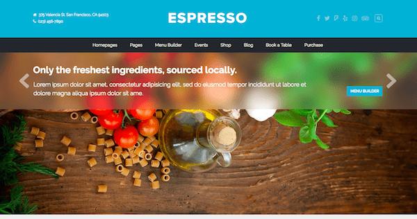 Espresso WordPress theme