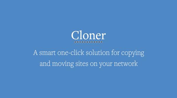 Cloner Plugin