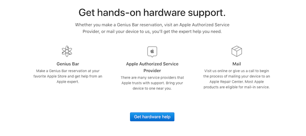 Physical Storefronts - Apple Support
