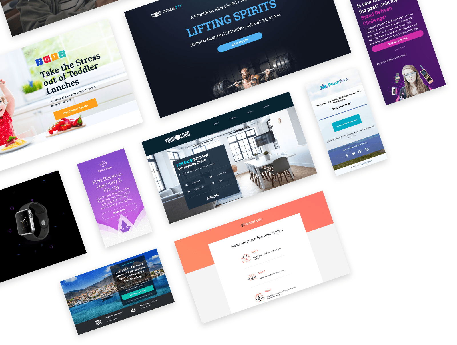 Leadpages landing page builder