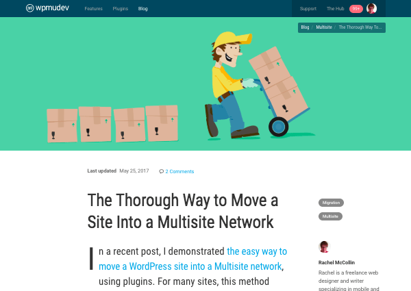 Use our guide to learn how to migrate a site manually