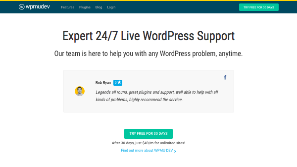 Expert 24/7 Live WordPress Support