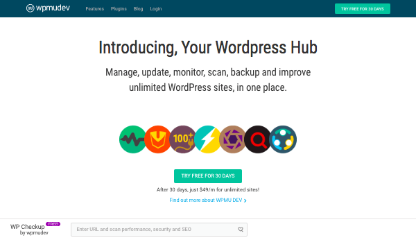 The Hub on the WPMU DEV website
