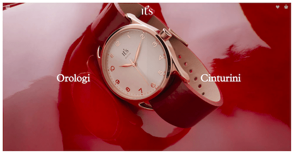 Design the First Page of Your eCommerce Site IT'S WATCH Value Proposition