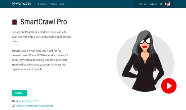 Smartcrawl Pro plugin