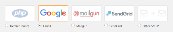 Screenshot of WP Mail SMTP Plugin Email Gmail Setting
