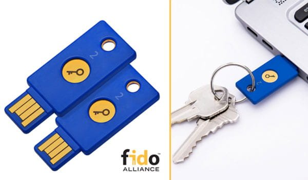 FIDO U2F Security Keys