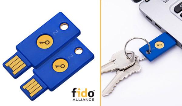 FIDO U2F Security Keys