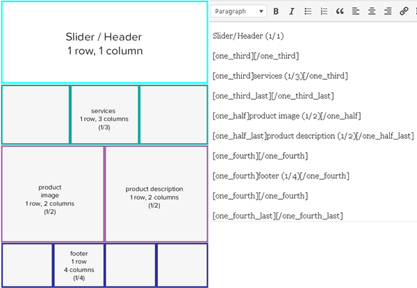 Creating columns before page builder plugins