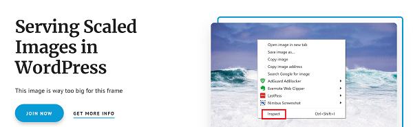 Screenshot of how to open Chrome Developer Tools