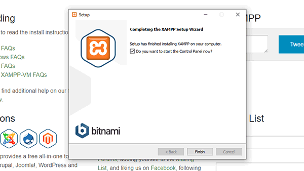 How to Install XAMPP and WordPress on Windows Localhost