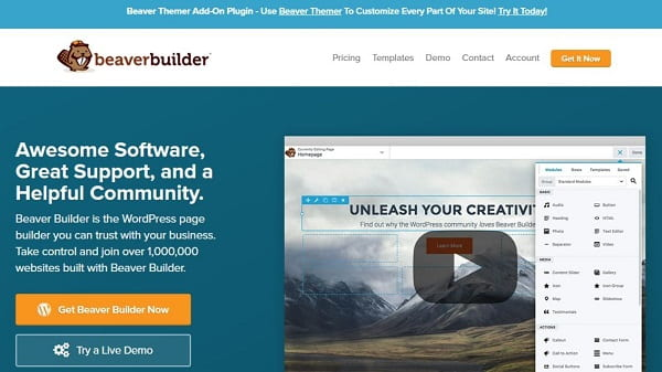 The Top 13 WordPress Page Builders Compared (2019)