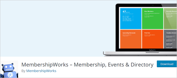 MembershipWorks – Membership, Events & Directory