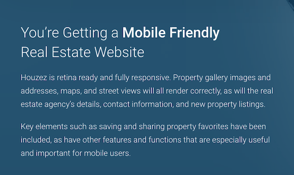 make sure your real estate website is mobile friendly