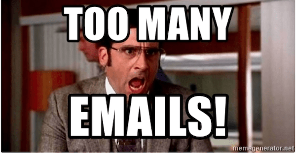 People don't want spam emails in their inbox!