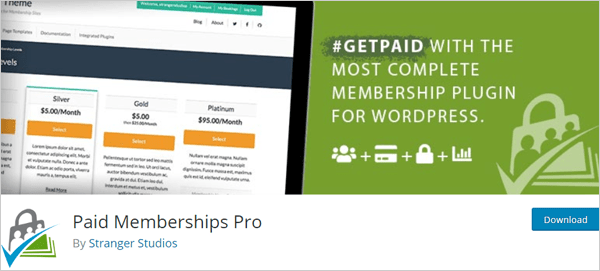 Paid Memberships Pro - WordPress Plugin