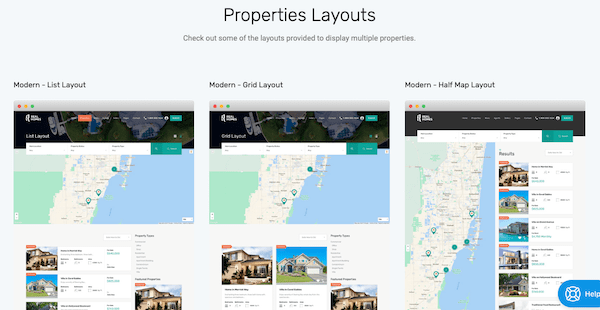 Change up the layout of your property listings