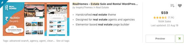 RealHomes premium theme plugin
