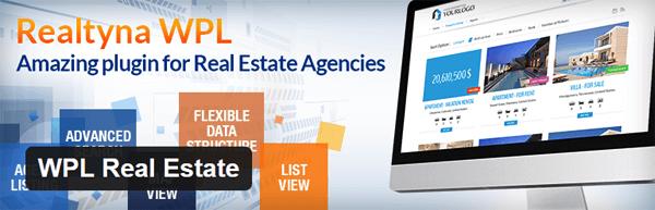 The WPL real estate free plugin