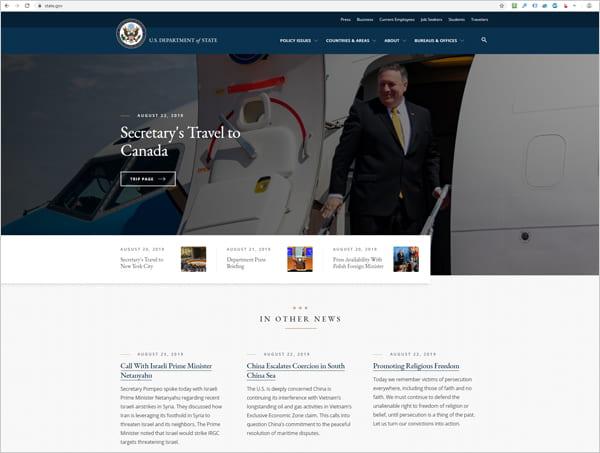 State.gov website.