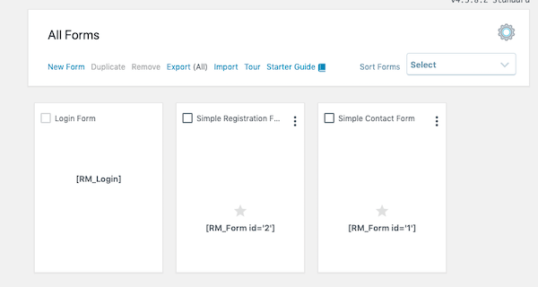 This plugin makes creating forms easy.