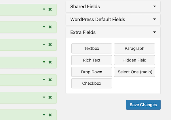 Add extra fields