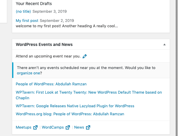 wordpress gives you the latest insights and news